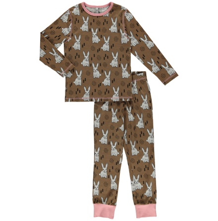Maxomorra pyjama set LS rabbit