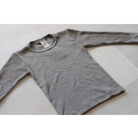 Engel tröja i ull/silke, valnöt