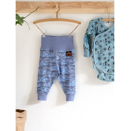 Modéerska Huset Baby Leggings In The Clouds