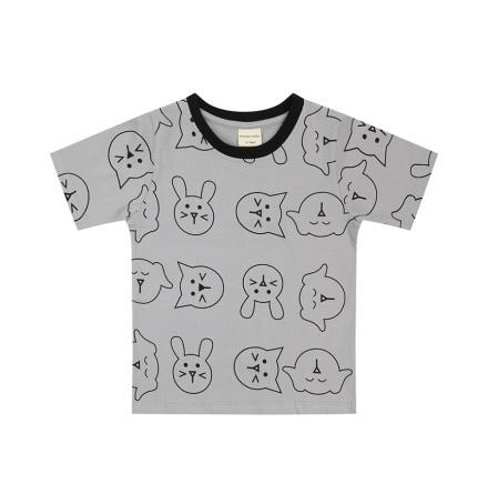 Turtledove London T-shirt - Pets Print