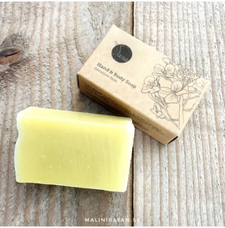 Organics by Sara, ekotvål - sensitive skin
