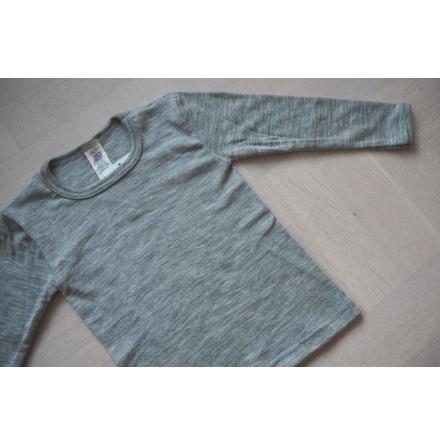 Engel tröja i ull/silke, grå