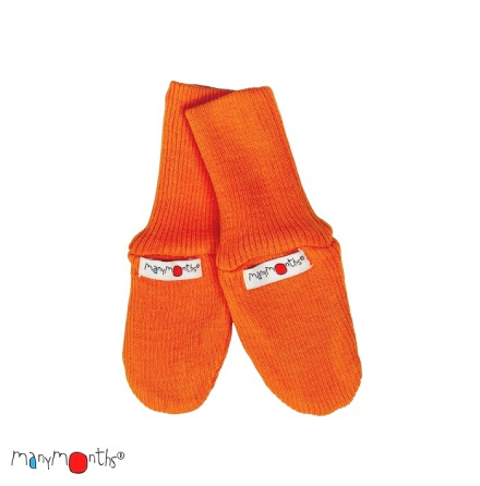 Manymonths vantar i merinoull, orange