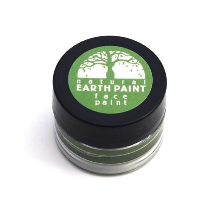 Natural Earth Paint, ekologisk ansiktsfärg grön