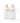 Hevea nappflaska i glas med dinapp i naturgummi, 2-pack, vit